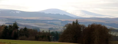 photo of the Cheviots